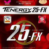 Накладка для настольного тенниса Butterfly Tenergy 25 FX б/у