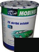 Автоэмаль Mobihel 601 Черная 1л, акрил.