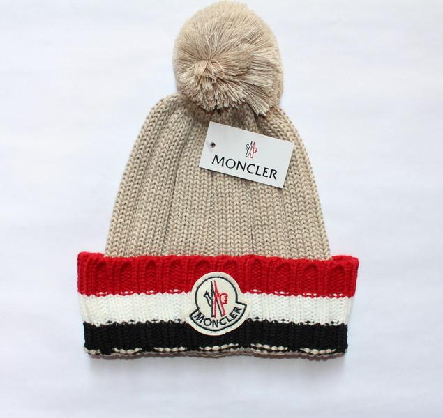 Разные цвета MONCLER шапки вязаные для взрослых и подростков шапка хлопок монклер.