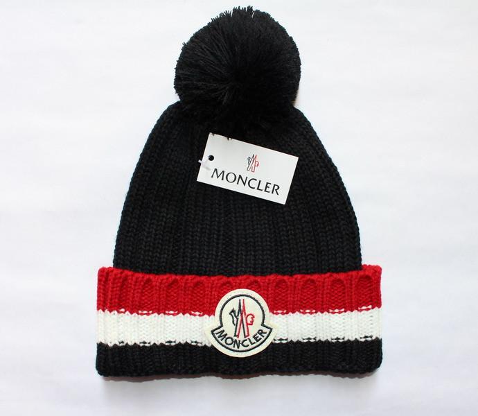 Разные цвета MONCLER шапки вязаные для взрослых и подростков шапка хлопок