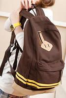 Рюкзак  P011 коричневый
