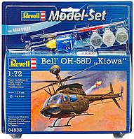 Модель для сборки Revell Model Set. Многоцелевой вертолет Bell OH-58D Kiowa (64938)