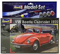 Сборная модель Revell Model Set. Автомобиль VW Beetle Carbriolet 1970 (67078)