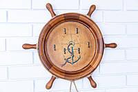 Ключница настенная деревянная ′ Штурвал ′