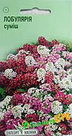 """Семена цветов Лобулярия приморская, смесь, однолетнее 0.2 г, """"Елітсортнасіння"""", Украина"""