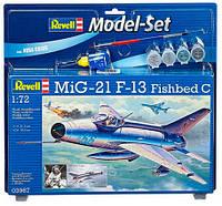 Модель для сборки Revell Model Set Многоцелевой истребитель MiG-21 F-13 Fishbed (63967)