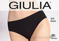 Женские черные трусики слип Slip Basic Giulia nero L/XL