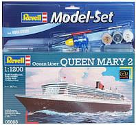 Модель для сборки Revell Пароход-люкс Queen Mary 2 (65808)