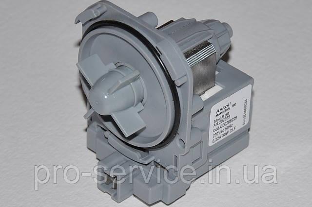 Насос (помпа) Askoll Mod. M50 для стиральных машин Bosch, Neff, Constructa
