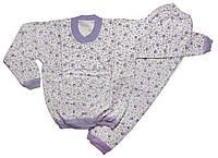 Пижама детская на байке р9 лет (маломерит)