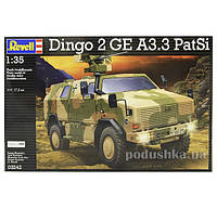 Конструктор Бронеавтомобиль ATF Dingo 2 GE A3.3 PatSi 1:35 Revell 03242
