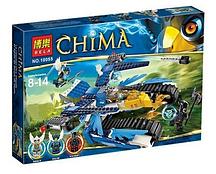 """Конструктор Legends of Chima 10055 """"Гарпунер Орла Экилы """", 344 дет."""