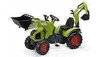 Трактор на педалях Falk 330 Claas Axos  с 2 ковшами