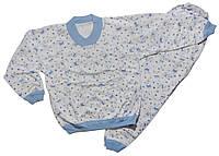 Пижама детская на байке р 7 лет (маломерит)