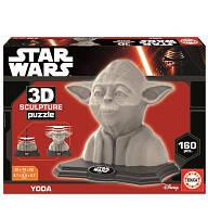 Пазл 3D Скульптура, Йода, 160 элементов