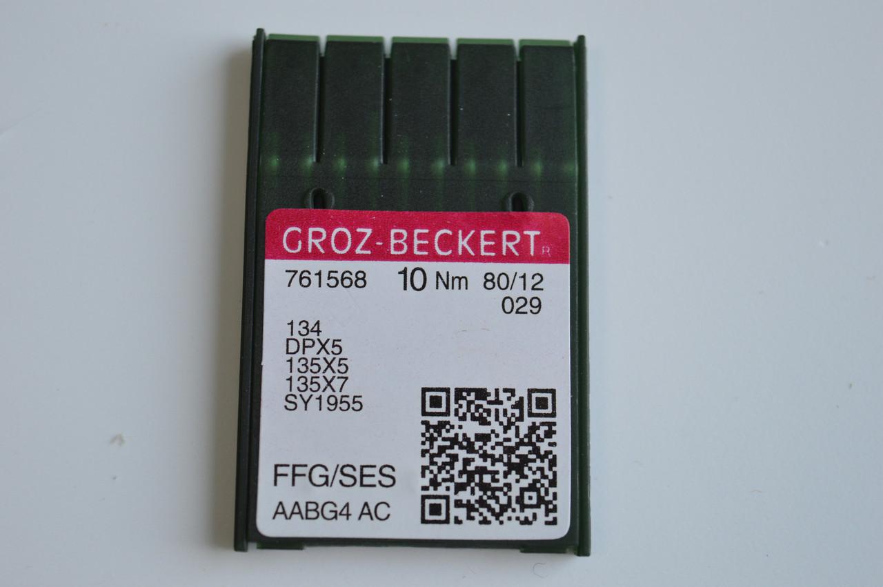 Иглы для швейной машины GROZ-BECKERT