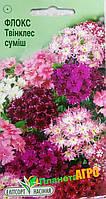 "Семена цветов Флокс ""Друммонда Твинклес"", смесь, однолетнее 0.1 г ""Елітсортнасіння"", Украина"