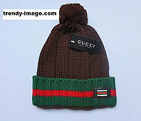Разные цвета GUCCI шапки вязаные для взрослых и подростков шапка хлопок гуччи, фото 1