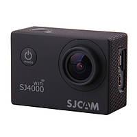 Экшн камера sjcam sj4000 wifi black с водонепроницаемым кейсом