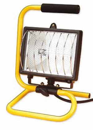 Галогенный прожектор переносной Delux FDL-118 В