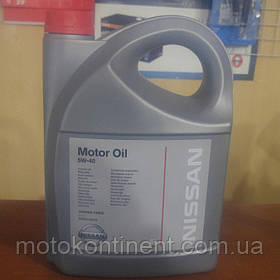 KE90090042 Масло моторное Nissan 5W-40 5л