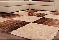Мягкие объемные 3D ковры шагги, ковры с 3д эффектом, фото 1