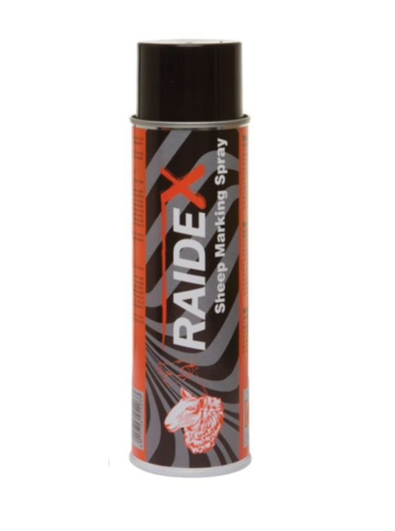 Краска-спрей Raidex для маркировки животных, 500 мл. Цвет- красный (Германия)