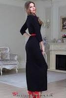 Платье в пол молодежное