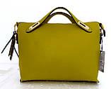 Стильная женская сумка. Эко-кожа. Черная, фото 6