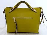 Стильная женская сумка. Эко-кожа. Черная, фото 7