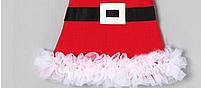 Рождественское платье Санта для девочки от 1 года., фото 4