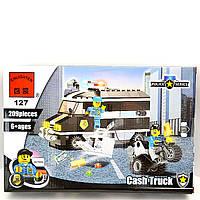 Конструктор Brik Полиция Машина