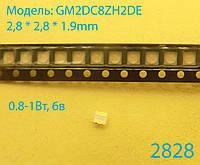 Светодиод 2828 SMD, LED2828 SHARP 6в 0,8-1Вт