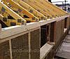 Энергосберегающий дом из прессованной соломы или камыша в деревянном каркасе