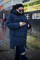 Модная зимняя женская  куртка с встроенными наушниками батал 54-64 размеров