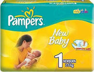 "Подгузник ""Pampers New Baby""  1   (43шт.)"