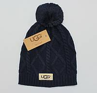 Разные цвета UGG шапки вязаные для взрослых и подростков шапка хлопок угг