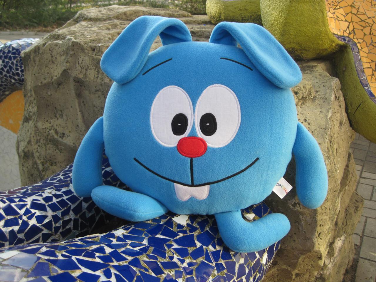 Мягкая игрушка - подушка Смешарик Крош ручная работа
