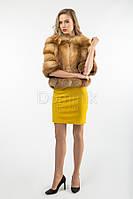 Полушубок из лисы - 05703 длина 54 см