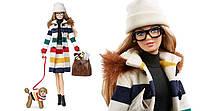 Лялька Барбі Колекційна Hudson's Bay Barbie Collector, фото 4