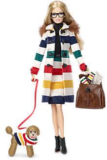 Лялька Барбі Колекційна Hudson's Bay Barbie Collector