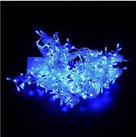 Гирлянда светодиодная новогодняя 200 LED 10,5 метра DM синий