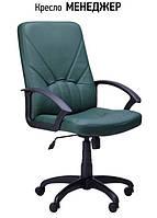 Кресло Менеджер Пластик Неаполь-35 (зеленый)