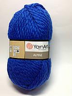 Пряжа alpine - цвет васильковый