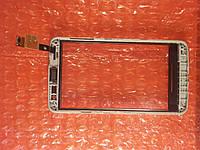 LG X145 сенсор в рамке +динамик ОРИГИНАЛ Б/У