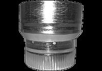 Перехідник з оцинкованого металу 140/130
