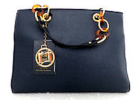 Стильная женская сумка. Эко-кожа Италия Синяя, фото 1
