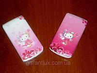 Hello Kitty W 999 модная раскладушка для девочек (Duos, 2 сим карты, хелло китти)