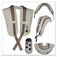 Массажер для спины, шеи и ног Zenet ZET-756 .Девять уровней интенсивности массажа.