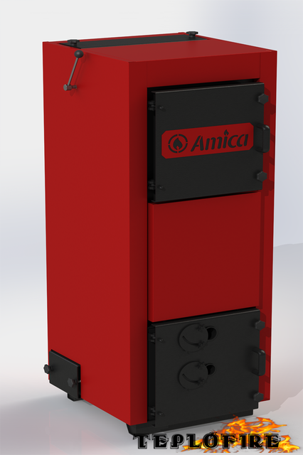 Твердотопливный котел Amica Time W 38 кВт
